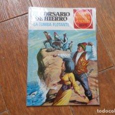 Tebeos: GRANDES AVENTURAS JUVENILES Nº 49 EL CORSARIO DE HIERRO EN LA TUMBA FLOTANTE ED. BRUGUERA. Lote 287908153