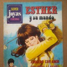 Tebeos: SÚPER JOYAS FEMENINAS N°19: ESTHER Y SU MUNDO (BRUGUERA, 1980). SERIE AZUL. POR PURITA CAMPOS.. Lote 287917513
