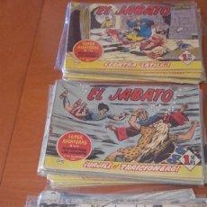 Tebeos: EL JABATO EDITORIAL BRUGUERA LOTE 36 Nº ORIGINALES. Lote 214702986