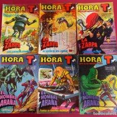 Tebeos: LOTE DE 6 -HORA T-BRUGUERA. Lote 287980053