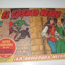 Tebeos: EL COSACO VERDE 105.ORIGINA,EDITORIAL BRUGUERA,AÑO 1960.. Lote 287982398