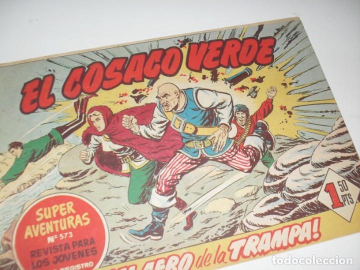 EL COSACO VERDE 98.ORIGINAL,EDITORIAL BRUGUERA,AÑO 1960. (Tebeos y Comics - Bruguera - Cosaco Verde)
