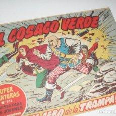 Tebeos: EL COSACO VERDE 98.ORIGINAL,EDITORIAL BRUGUERA,AÑO 1960.. Lote 287982823