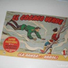 Tebeos: EL COSACO VERDE 96.ORIGINAL,EDITORIAL BRUGUERA,AÑO 1960.. Lote 287984853