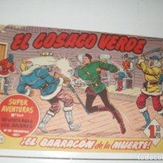 Tebeos: EL COSACO VERDE 95.ORIGINAL,EDITORIAL BRUGUERA,AÑO 1960.. Lote 287985108