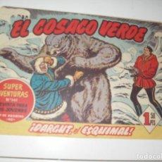 Tebeos: EL COSACO VERDE 94.ORIGINAL,EDITORIAL BRUGUERA,AÑO 1960.. Lote 287985208