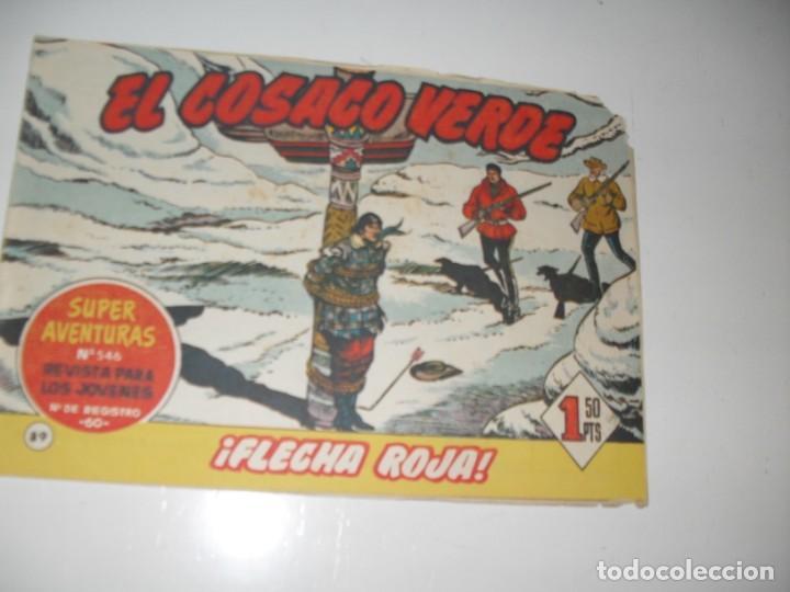 EL COSACO VERDE 89.ORIGINAL,EDITORIAL BRUGUERA,AÑO 1960. (Tebeos y Comics - Bruguera - Cosaco Verde)