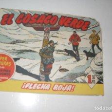 Tebeos: EL COSACO VERDE 89.ORIGINAL,EDITORIAL BRUGUERA,AÑO 1960.. Lote 287985293