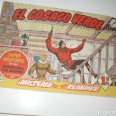 Tebeos: EL COSACO VERDE 87.ORIGINAL,EDITORIAL BRUGUERA,AÑO 1960.. Lote 287985463