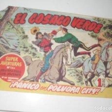 Tebeos: EL COSACO VERDE 85.ORIGINAL,EDITORIAL BRUGUERA,AÑO 1960.. Lote 287985558