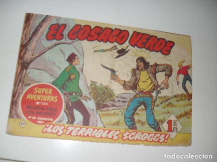 EL COSACO VERDE 83.ORIGINAL,EDITORIAL BRUGUERA,AÑO 1960. (Tebeos y Comics - Bruguera - Cosaco Verde)