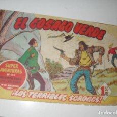 Tebeos: EL COSACO VERDE 83.ORIGINAL,EDITORIAL BRUGUERA,AÑO 1960.. Lote 287985633