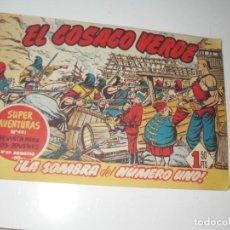 Tebeos: EL COSACO VERDE 67.ORIGINAL,EDITORIAL BRUGUERA,AÑO 1960.. Lote 287985738