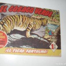 Tebeos: EL COSACO VERDE 61.ORIGINAL,EDITORIAL BRUGUERA,AÑO 1960.. Lote 287985828