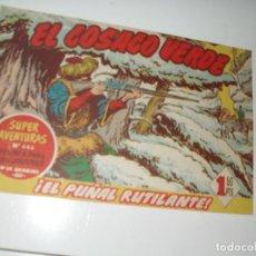 Tebeos: EL COSACO VERDE 55.ORIGINAL,EDITORIAL BRUGUERA,AÑO 1960.. Lote 287985963
