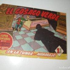 Tebeos: EL COSACO VERDE 51.ORIGINAL,EDITORIAL BRUGUERA,AÑO 1960.. Lote 287986113