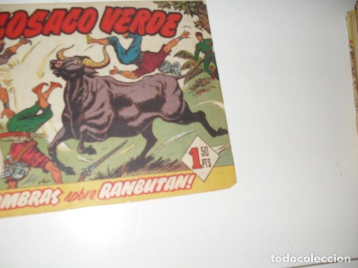 EL COSACO VERDE 47.ORIGINAL,EDITORIAL BRUGUERA,AÑO 1960. (Tebeos y Comics - Bruguera - Cosaco Verde)