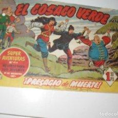 Tebeos: EL COSACO VERDE 47.ORIGINAL,EDITORIAL BRUGUERA,AÑO 1960.. Lote 287986593