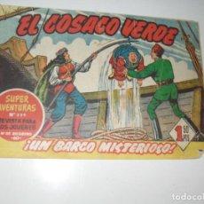 Tebeos: EL COSACO VERDE 40.ORIGINAL,EDITORIAL BRUGUERA,AÑO 1960.. Lote 287986693