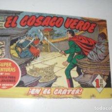 Tebeos: EL COSACO VERDE 37.ORIGINAL,EDITORIAL BRUGUERA,AÑO 1960.. Lote 287987103