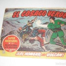 Tebeos: EL COSACO VERDE 36.ORIGINAL,EDITORIAL BRUGUERA,AÑO 1960.. Lote 287987263