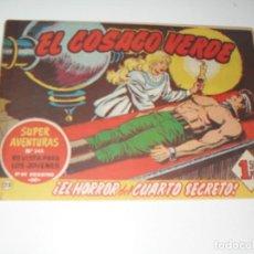 Tebeos: EL COSACO VERDE 23 7 27,ESTAN PEGADOS.ORIGINAL,EDITORIAL BRUGUERA,AÑO 1960.. Lote 287987583