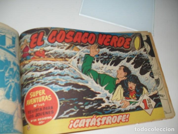 Tebeos: el cosaco verde 23 7 27,estan pegados.original,editorial bruguera,año 1960. - Foto 2 - 287987583