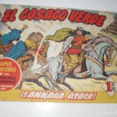 Tebeos: EL COSACO VERDE 18.ORIGINAL,EDITORIAL BRUGUERA,AÑO 1960.. Lote 287988188