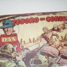 Tebeos: EL INSPECTOR DAN:TESORO EN COREA.ORIGINAL.EDITORIAL BRUGUERA,AÑO 1951.. Lote 287989248