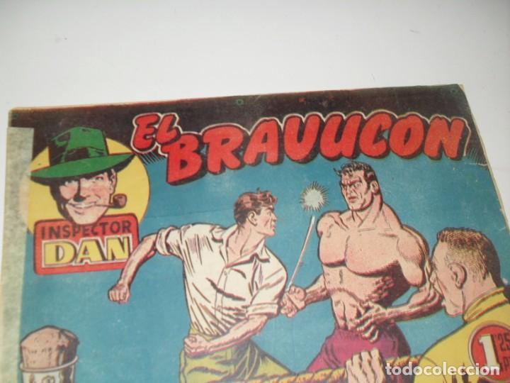 EL INSPECTOR DAN 23.ORIGINAL.EDITORIAL BRUGUERA,AÑO 1951. (Tebeos y Comics - Bruguera - Inspector Dan)
