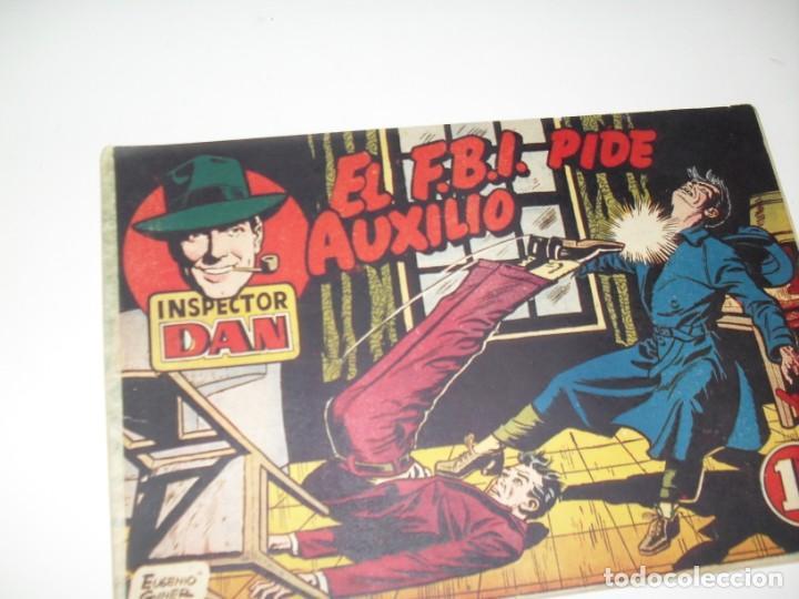 EL INSPECTOR DAN 4.ORIGINAL.EDITORIAL BRUGUERA,AÑO 1951. (Tebeos y Comics - Bruguera - Inspector Dan)