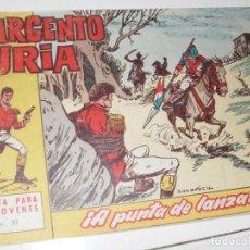 Tebeos: EL SARGENTO FURIA 31(DE 36).EDITORIAL BRUGUERA,AÑO 1962.. Lote 287991563