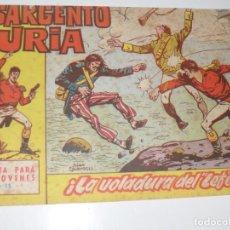 Tebeos: EL SARGENTO FURIA 15(DE 36).EDITORIAL BRUGUERA,AÑO 1962.. Lote 287996083