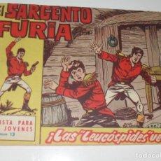 Tebeos: EL SARGENTO FURIA 13(DE 36).EDITORIAL BRUGUERA,AÑO 1962.. Lote 287996478