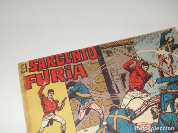 EL SARGENTO FURIA 12(DE 36).EDITORIAL BRUGUERA,AÑO 1962. (Tebeos y Comics - Bruguera - Cuadernillos Varios)