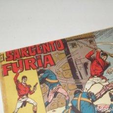 Tebeos: EL SARGENTO FURIA 12(DE 36).EDITORIAL BRUGUERA,AÑO 1962.. Lote 287996618