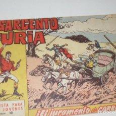 Tebeos: EL SARGENTO FURIA 10(DE 36).EDITORIAL BRUGUERA,AÑO 1962.. Lote 288004778