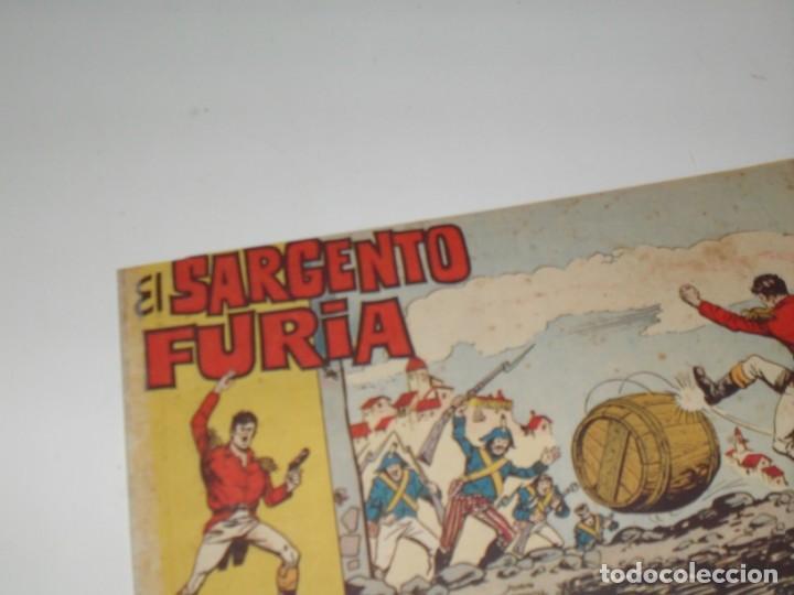 EL SARGENTO FURIA 9(DE 36).EDITORIAL BRUGUERA,AÑO 1962. (Tebeos y Comics - Bruguera - Cuadernillos Varios)