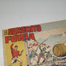 Tebeos: EL SARGENTO FURIA 9(DE 36).EDITORIAL BRUGUERA,AÑO 1962.. Lote 288004928