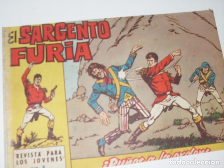 EL SARGENTO FURIA 8(DE 36).EDITORIAL BRUGUERA,AÑO 1962. (Tebeos y Comics - Bruguera - Cuadernillos Varios)