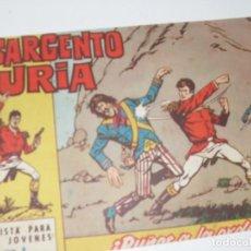 Tebeos: EL SARGENTO FURIA 8(DE 36).EDITORIAL BRUGUERA,AÑO 1962.. Lote 288005048