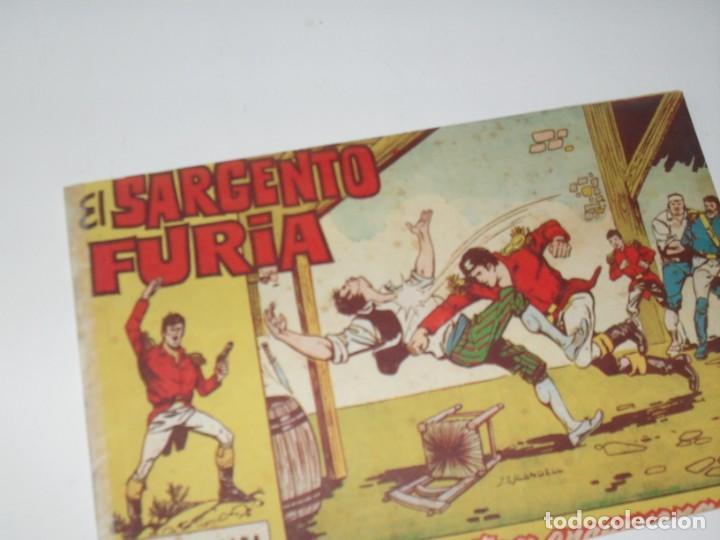EL SARGENTO FURIA 4(DE 36).EDITORIAL BRUGUERA,AÑO 1962. (Tebeos y Comics - Bruguera - Cuadernillos Varios)