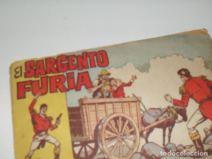 EL SARGENTO FURIA 3(DE 36).EDITORIAL BRUGUERA,AÑO 1962. (Tebeos y Comics - Bruguera - Cuadernillos Varios)