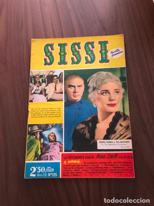SISSI Nº 135, EDITORIAL BRUGUERA (Tebeos y Comics - Bruguera - Sissi)