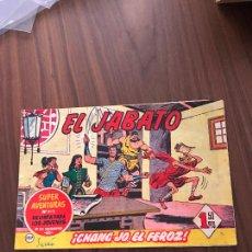 Tebeos: EL JABATO Nº 127, ORIGINAL, EDITORIAL BRUGUERA. Lote 288024228