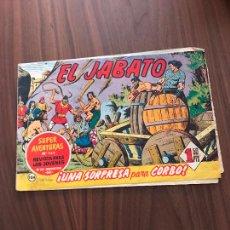Tebeos: EL JABATO Nº 104, ORIGINAL, EDITORIAL BRUGUERA. Lote 288024358