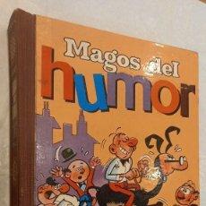 Tebeos: MAGOS DEL HUMOR. VOL I. BRUGUERA. MORTADELO-SACARINO-AGAMENÓN-D. PIO-ROMPETECHOS. VER FOTOS. Lote 288056933
