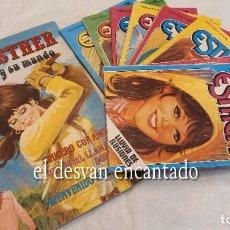 Tebeos: ESTHER. EDITORIAL BRUGUERA. LOTE 9 COMICS. VER FOTOS. Lote 288058808