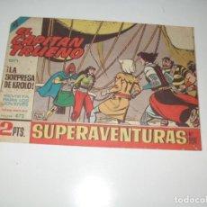 Tebeos: EL CAPITAN TRUENO 472.ORIGINAL.EDITORIAL BRUGUERA,AÑO 1956.. Lote 288146848