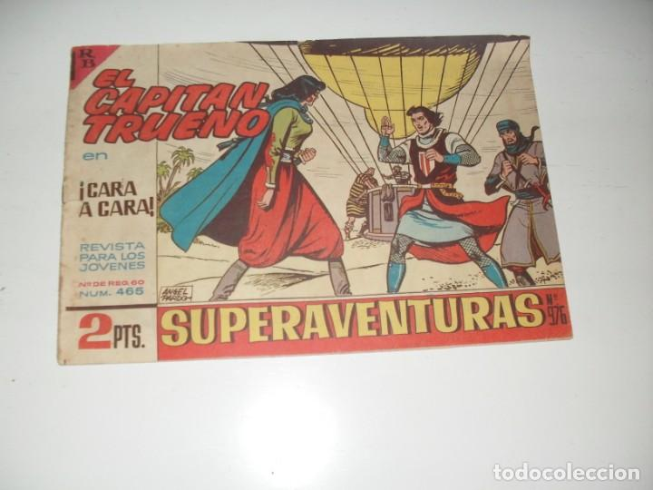 EL CAPITAN TRUENO 465.ORIGINAL.EDITORIAL BRUGUERA,AÑO 1956. (Tebeos y Comics - Bruguera - Capitán Trueno)